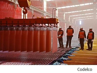 Weaker copper prices to wallop Chile's treasury