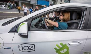 Grupo ICE presents the first public fleet of electric vehicles in Latin America
