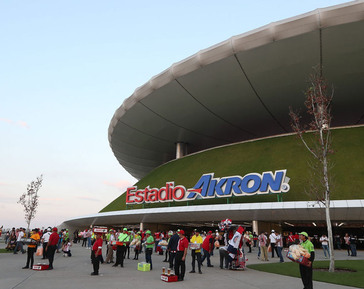 Tres estadios de fútbol mexicanos serían sedes mundialistas