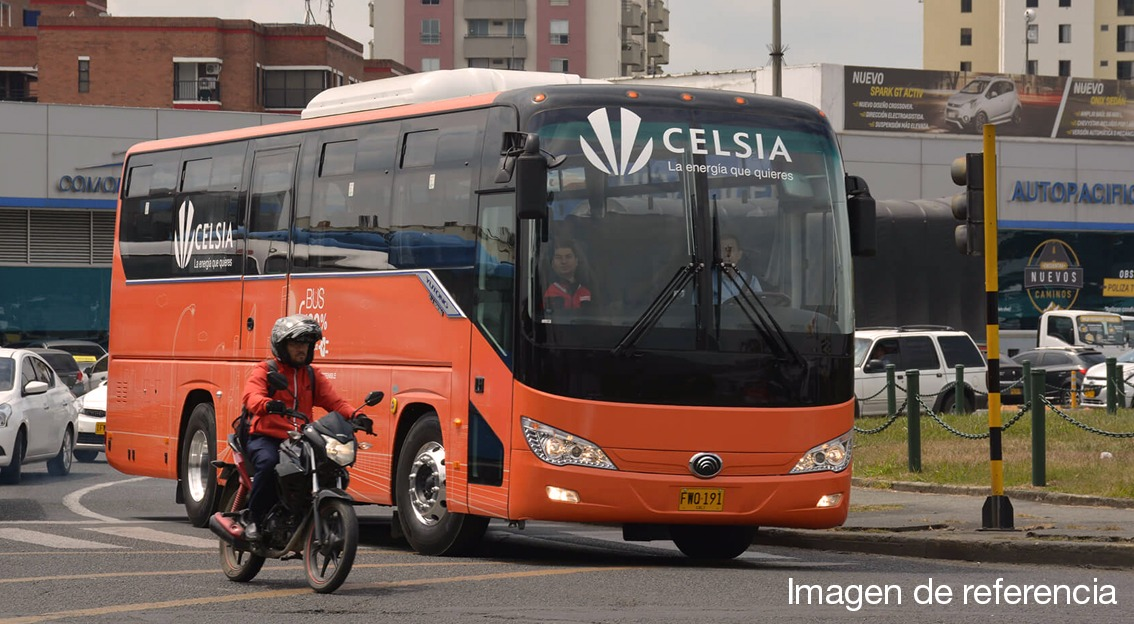 Celsia will make available to Bogotá 120 electric buses for the Integrated Public Transportation System (SITP)