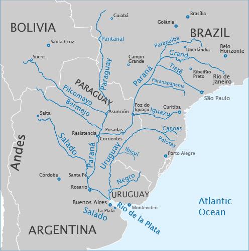 BNamericas - Asunción urban development plans center on Paraguay river