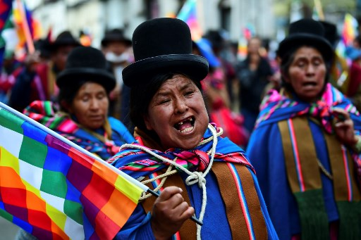 Bolivian interim president: Morales cannot run for election