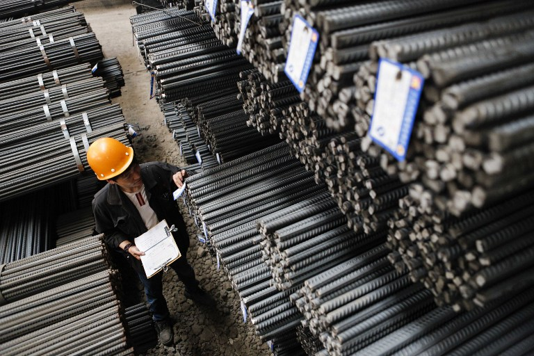 Chinese steel shines amid declining industrial metal prices