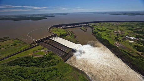 ITAIPU reached a record of accumulated supply to the ANDE system in November
