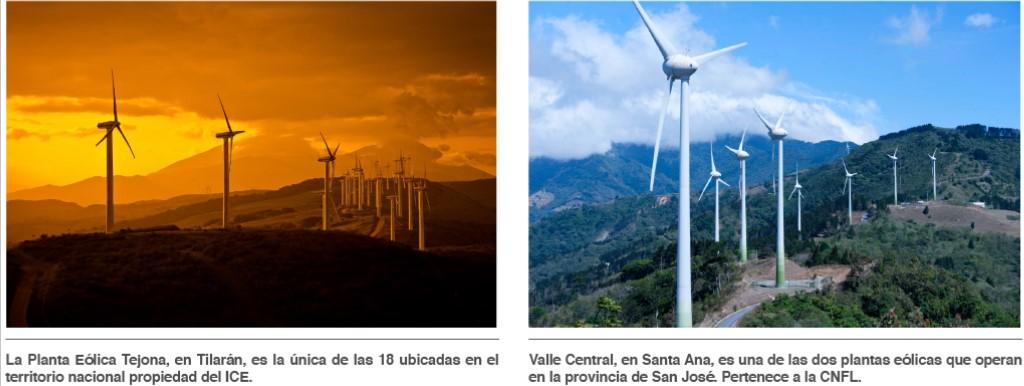 Costa Rica supera los 400 megavatios de capacidad eólica instalada