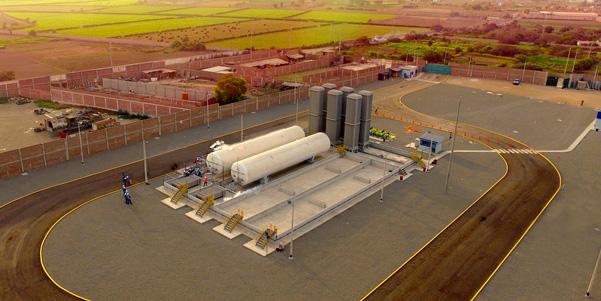 Producción peruana de gas natural bate récords