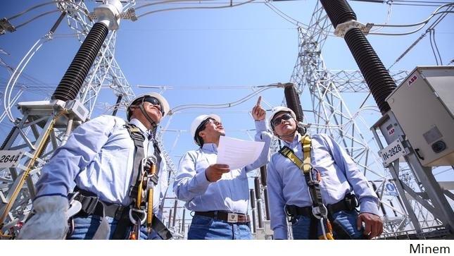Demanda eléctrica de Perú comienza a remontar en medio de reactivación