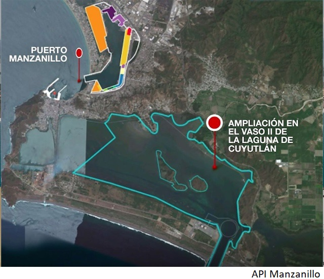 Mexico's US$1bn Manzanillo port expansion moves to pre-investment stage