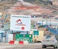 Prospect of resolving Las Bambas blockades at this week's meeting seen as remote