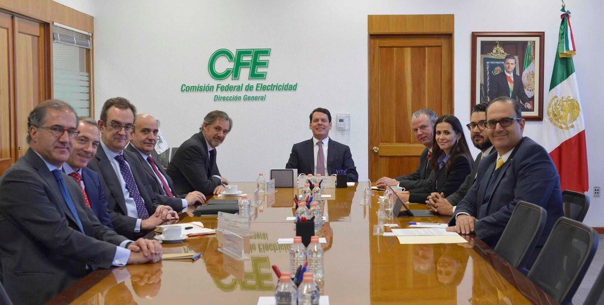 Acciona y CFE avanzan con colaboración en energía eólica