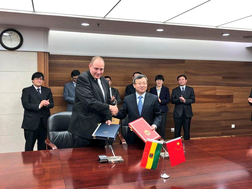 China interesada en plan de ampliación petroquímica de Bolivia