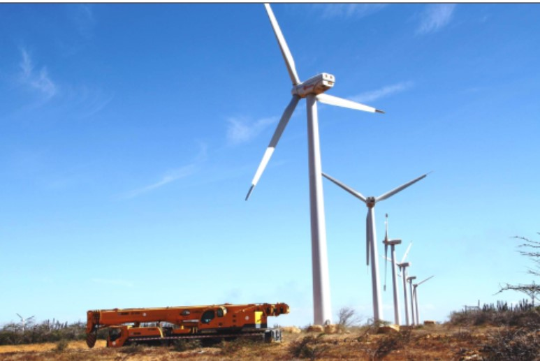 PDVSA reactivated power generation from the Paraguaná Wind Farm