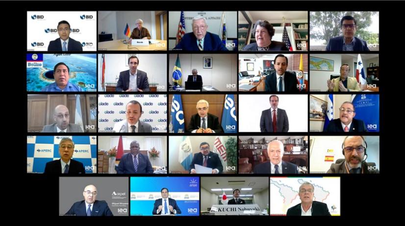 Ministros y líderes de energía de América Latina destacan la necesidad de una recuperación sostenible e inclusiva de la crisis del Covid-19