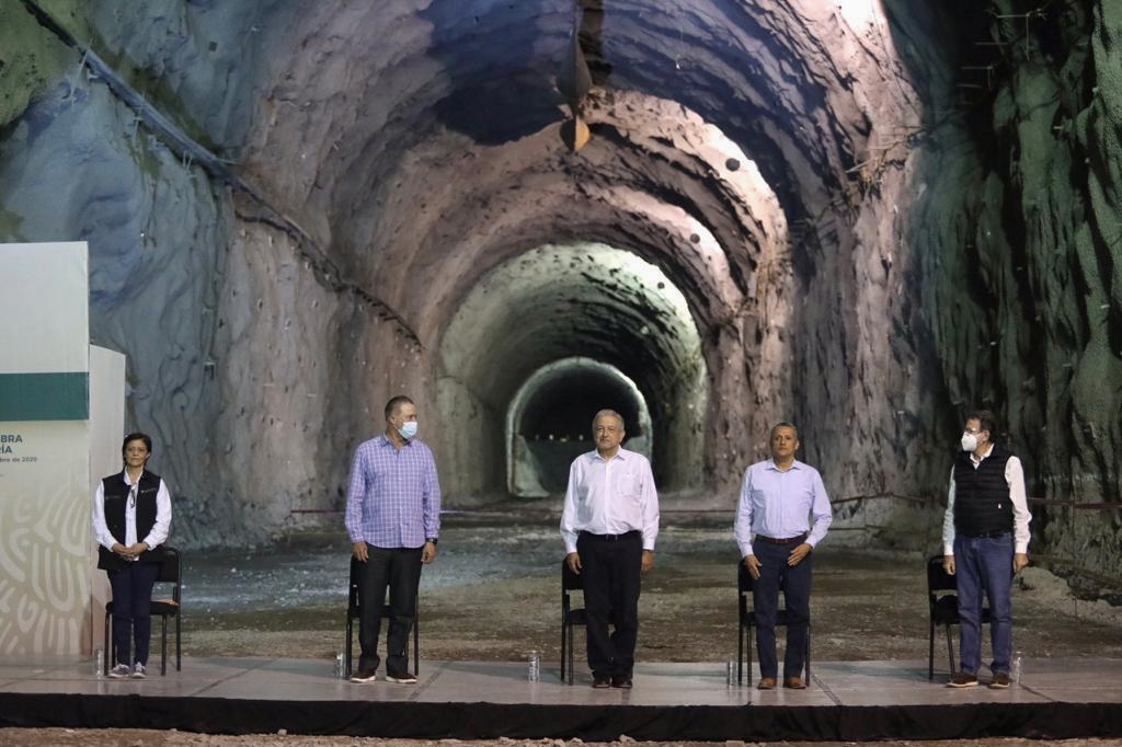 US$1bn Santa María dam registers slow progress