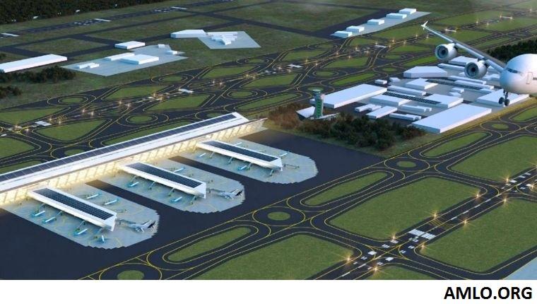Privados participarán en obras de aeropuerto mexicano en Santa Lucía