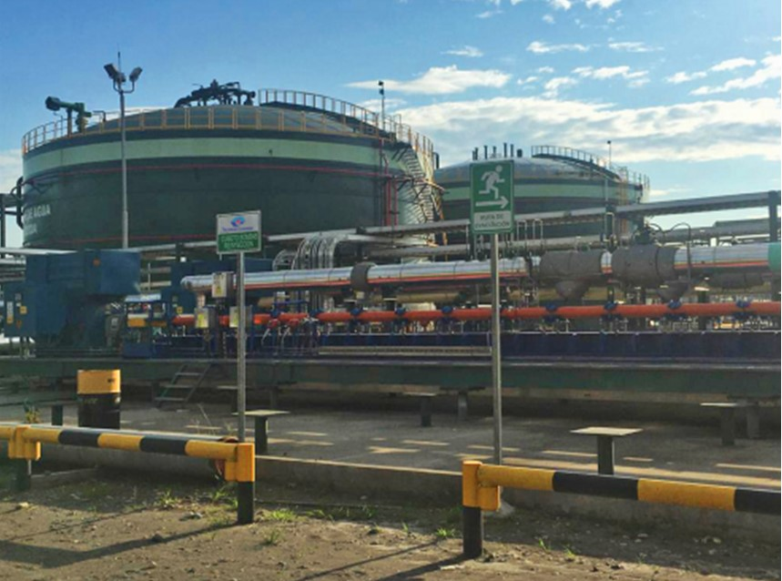 EP Petroecuador inaugurates a new formation water reinjection system, with a capacity of 200 thousand barrels per day, in Block 43
