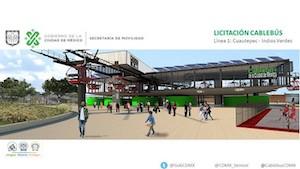 Anulan subasta de primera línea de teleférico de Ciudad de México
