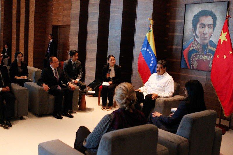 Venezuela estrecha lazos con China, Rusia y Cuba