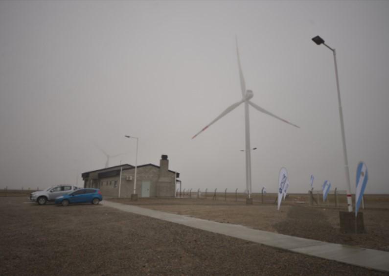 PCR inauguró hoy el parque eólico más grande del país