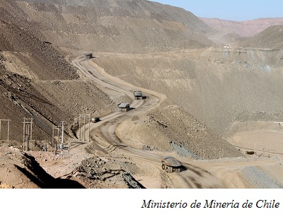 Chilean mines set to consume more seawater, energy by 2030