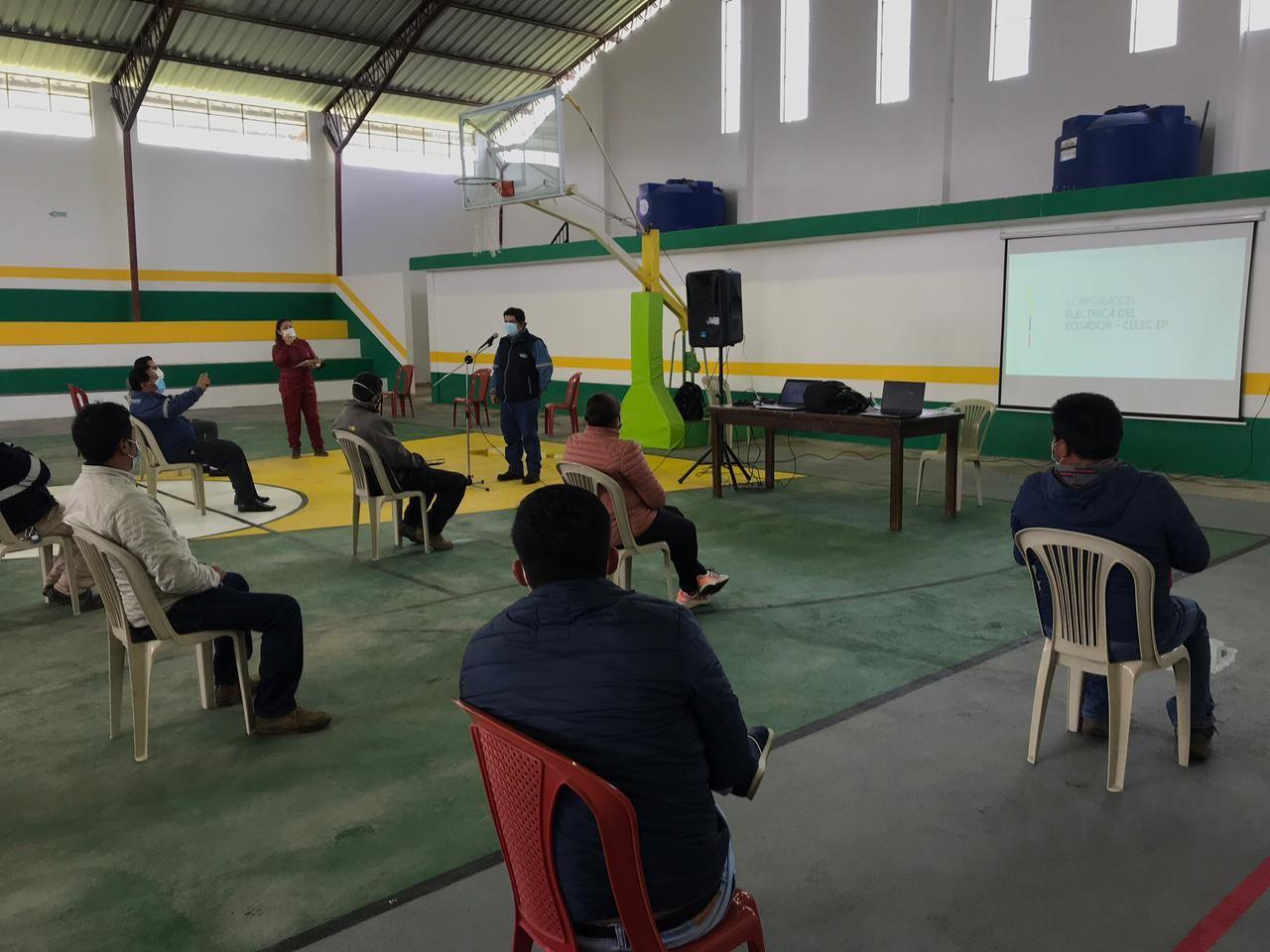 CELEC EP presentó el Estudio de Impacto Ambiental del nuevo sistema de transmisión Tanicuchí, en Cotopaxi