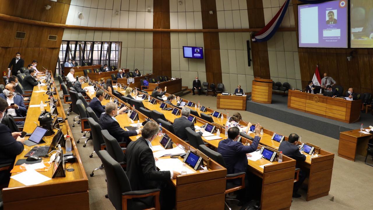 Senado de Paraguay aprueba proyecto de ley de emergencia por covid-19