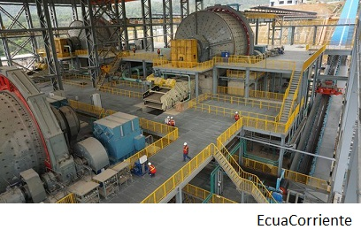 EcuaCorriente to invest over US$100mn in Mirador copper mine this year