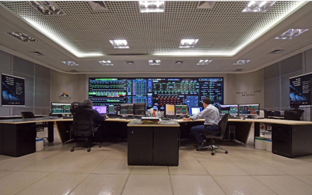 ITAIPU updates its energy production control and supervision system