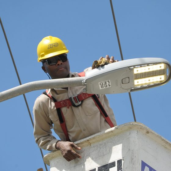 JPS Hits Streetlight Success – Over 80% of Island's Streetlights Now Smart LEDs
