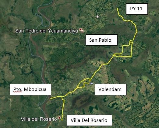 巴拉圭为泛美开发银行资助的道路工程招标