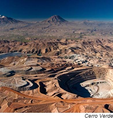 Cuatro mineras planean inversiones por US$706mn para mejoras en activos peruanos
