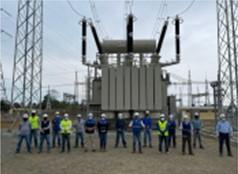CELEC EP avanza en la ampliación y modernización de la subestación Quevedo, con la energización del nuevo transformador de 225 MVA