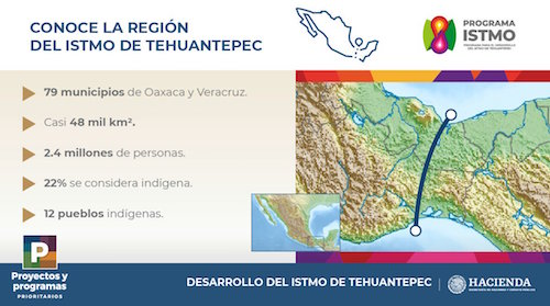 Who will benefit most from the Tehuantepec isthmus corridor?