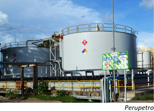 Data Snapshot: Peru crude, gas output falls for consecutive month
