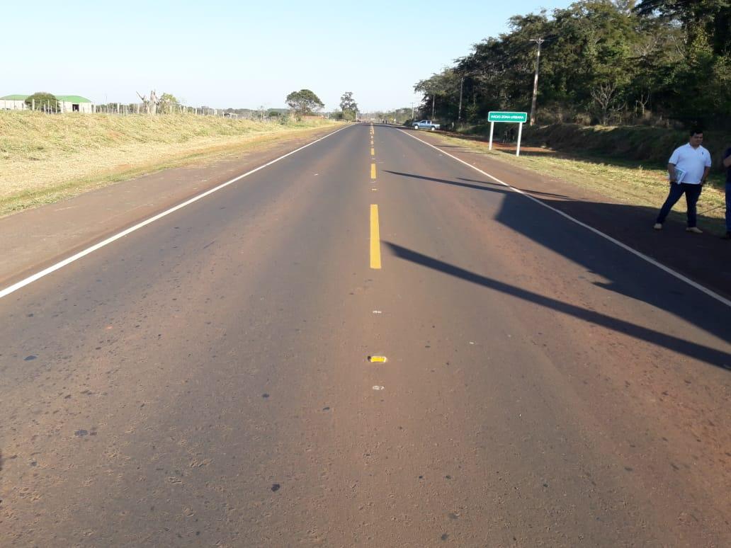 Paraguay finaliza obras de pavimentación valoradas en US$113mn