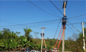 Cobertura eléctrica llegará al 94,6% de los hogares de Bolivia hasta diciembre próximo