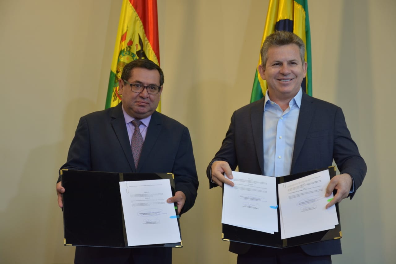 Bolivia and Brazil sign agreement for the export of electricity to the State of Mato Grosso