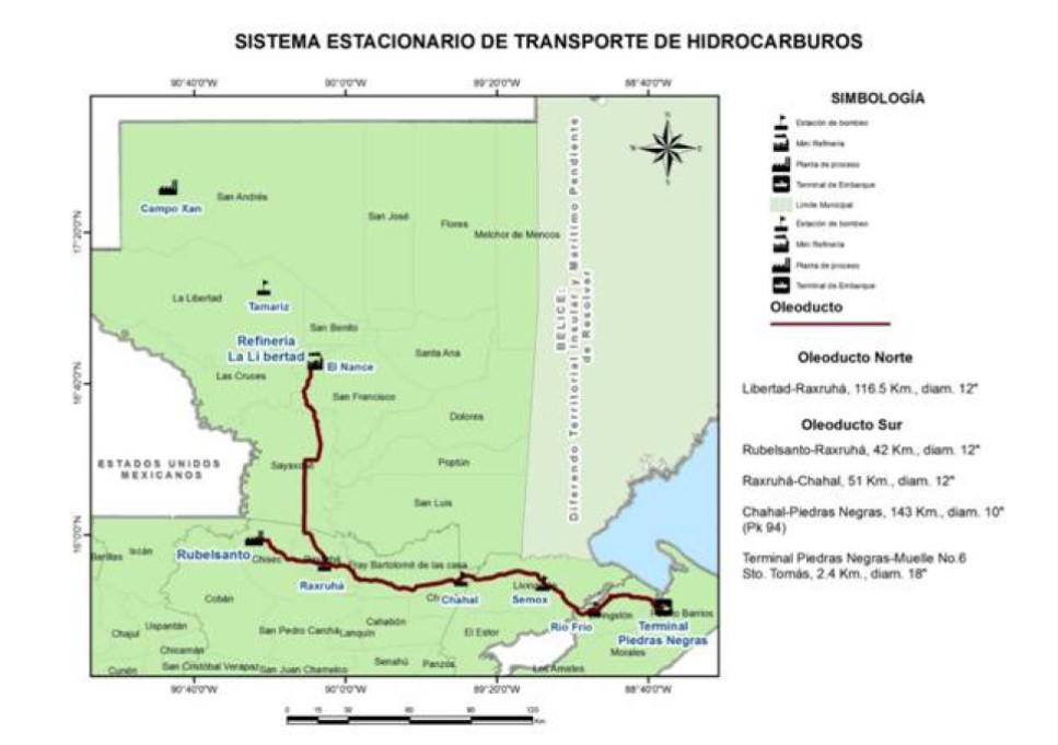 Guatemala planifica nueva convocatoria por gasoducto
