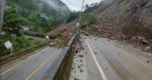 Colombia closes key road 'indefinitely' as floods drag on