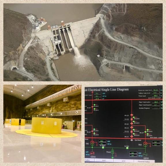 Hidroeléctrica Minas San Francisco enters experimental operation