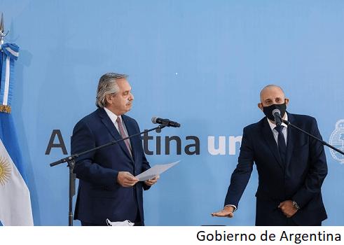 Argentina nombra nuevo ministro de Transporte