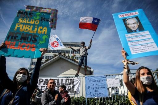 Resumen de protestas sociales en Chile