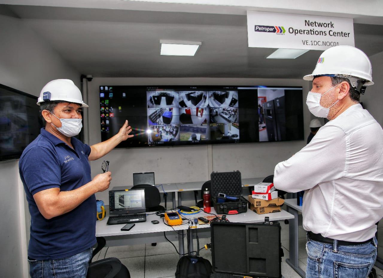 Nuevo data center brinda mayor seguridad y rapidez en el manejo de datos de Petropar