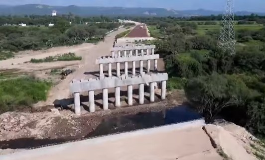 Bypass around Mexican city nearly 50% complete